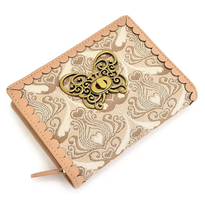 <クーポン配布中>アナスイ 財布 二つ折り財布 ベージュ ANNA SUI 313063-40 レディース 婦人
