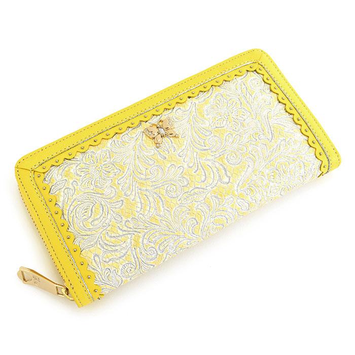 展示品箱なし アナスイ 財布 長財布 ラウンドファスナー 黄色(イエロー) ANNA SUI 314290-60 レディース 婦人