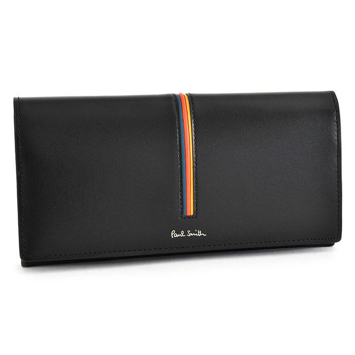 ポールスミス 財布 長財布 黒(ブラック) Paul Smith psc842-10 メンズ 紳士