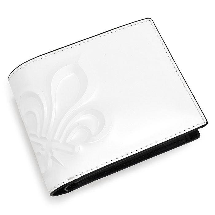 <クーポン配布中>パトリックコックス 財布 二つ折り財布 白(ホワイト) PATRICK COX pxmw8rs2-00 メンズ 紳士