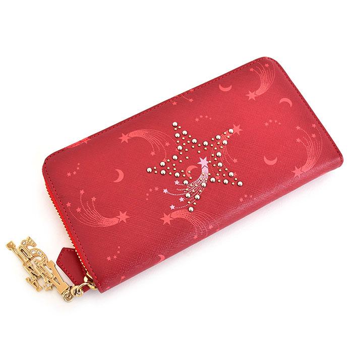 <クーポン配布中>アナスイ 財布 長財布 ラウンドファスナー 赤(レッド) ANNA SUI 313611-30 レディース 婦人