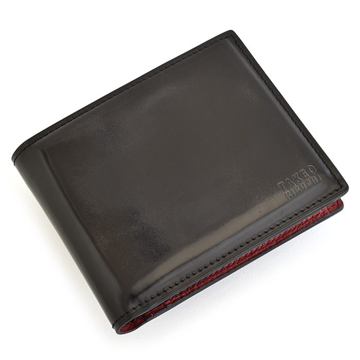 <クーポン配布中>タケオキクチ 財布 二つ折り財布 黒(ブラック) TAKEO KIKUCHI 757602 メンズ 紳士
