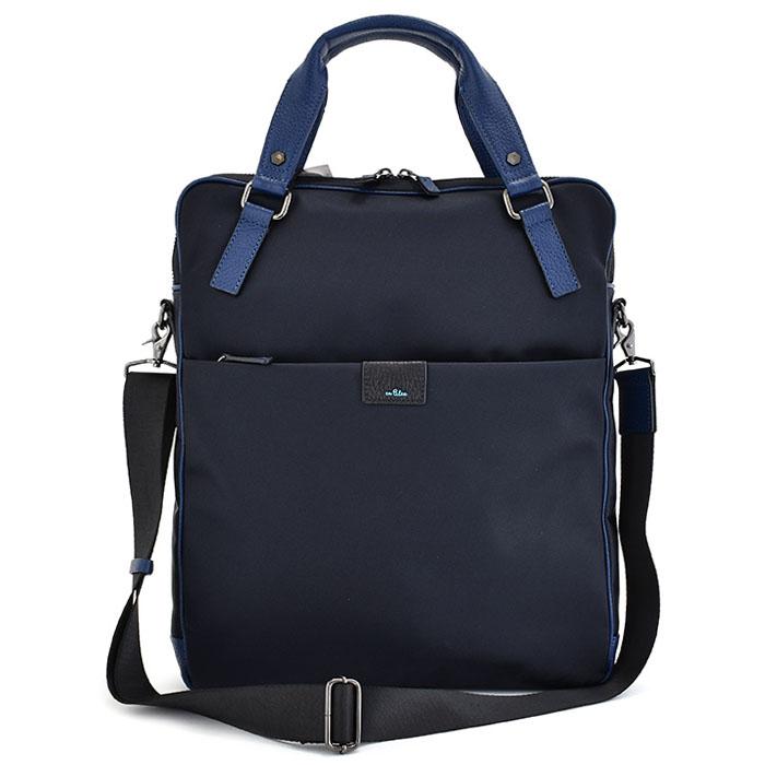 <クーポン配布中>ランバンオンブルー バッグ ビジネスバッグ 2wayバッグ 紺(ネイビー) LANVIN en Bleu 589502 メンズ 紳士