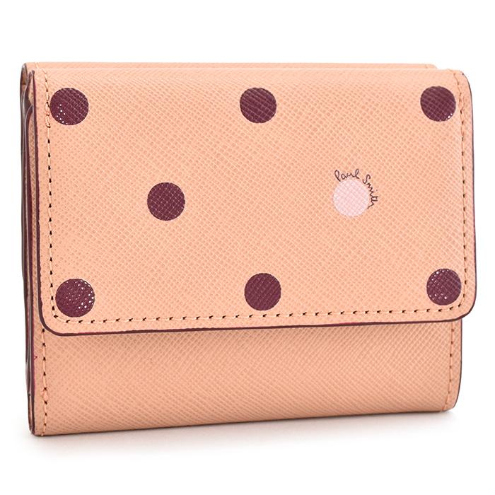 ポールスミス 財布 三つ折り財布 ピンク Paul Smith pwd423-24 レディース 婦人