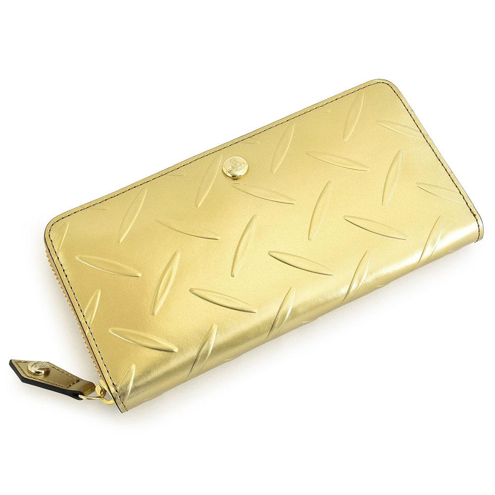 ヴィヴィアンウエストウッド 財布 長財布 ラウンドファスナー ゴールド Vivienne Westwood ACCESSORIES 3118au12
