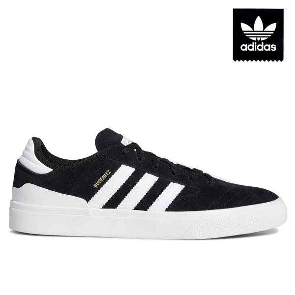 【adidas skateboarding】BUSENITZ VULC 2 カラー:black/white/gum EF8472 アディダス デニス ブセニッツ スケートボード スケボー シューズ 靴 スニーカー SKATEBOARD SHOES