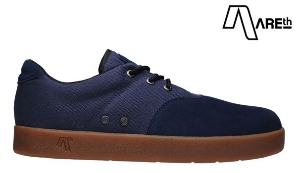 【AREth】PLUG カラー:navy アース プラグ シューズ 靴 スニーカー スケートボード スケボー SKATEBOARD
