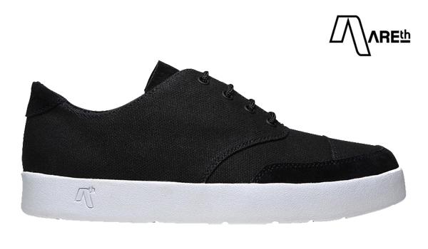 【AREth】LOX カラー:black アース ロックス シューズ 靴 スニーカー スケートボード スケボー SKATEBOARD