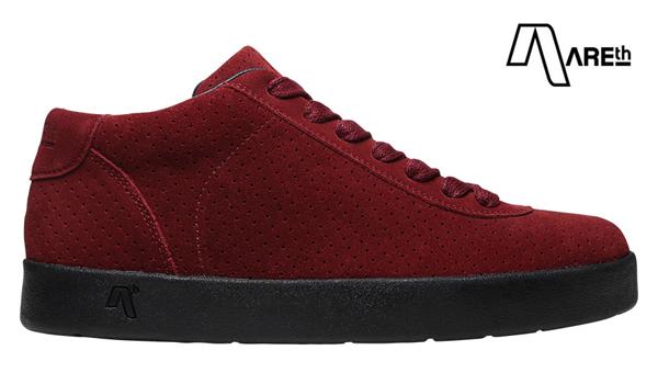 【AREth】LB カラー:burgundy アース エルビー シューズ 靴 スニーカー スケートボード スケボー SKATEBOARD
