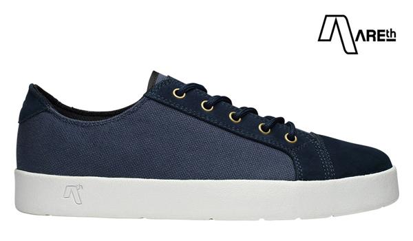 スニーカー シューズ カラー:navy アース 靴 スケボー ロウ SKATEBOARD 【AREth】LOLL スケートボード