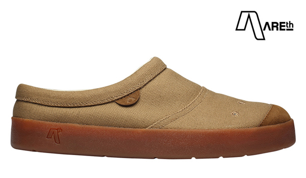 【AREth】SOL カラー:camel アース ソル シューズ 靴 スニーカー スケートボード スケボー SKATEBOARD