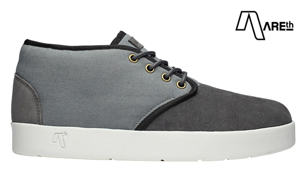 【AREth】BULIT カラー:gray アース ブリット シューズ 靴 スニーカー スケートボード スケボー SKATEBOARD
