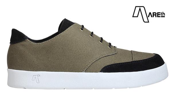 【AREth】LOX カラー:olive アース ロックス シューズ 靴 スニーカー スケートボード スケボー SKATEBOARD