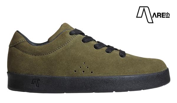 【AREth】I lace カラー:moss green アース アイレース シューズ 靴 スニーカー スケートボード スケボー SKATEBOARD
