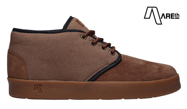 【AREth】BULIT カラー:brown アース ブリット シューズ 靴 スニーカー スケートボード スケボー SKATEBOARD