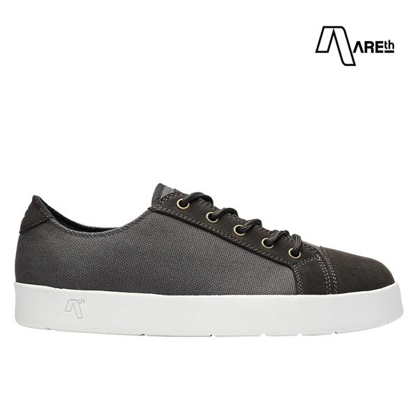 【AREth】LOLL カラー:charcoal アース ロウ シューズ 靴 スニーカー スケートボード スケボー SKATEBOARD