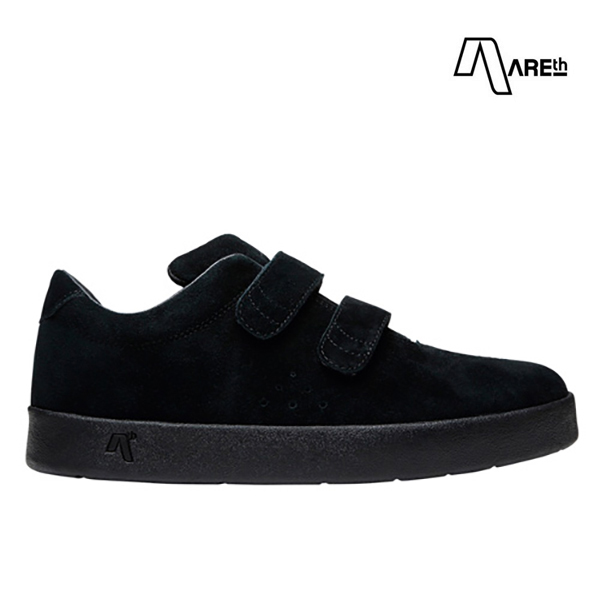 【AREth】I VELCRO カラー:all black アース シューズ 靴 スニーカー スケートボード スケボー SKATEBOARD