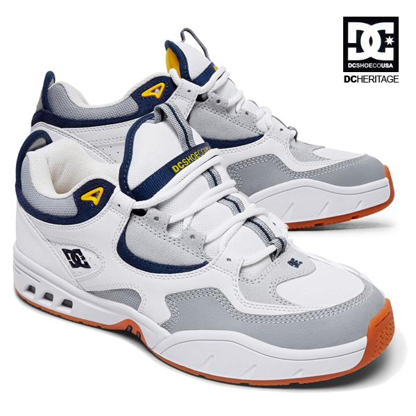 【DC Shoe】THE KALIS OG<the DC Heritage Collection>カラー:WGYディーシー カリススケートボード スケボーシューズ 靴 スニーカーSKATEBOARD SHOES