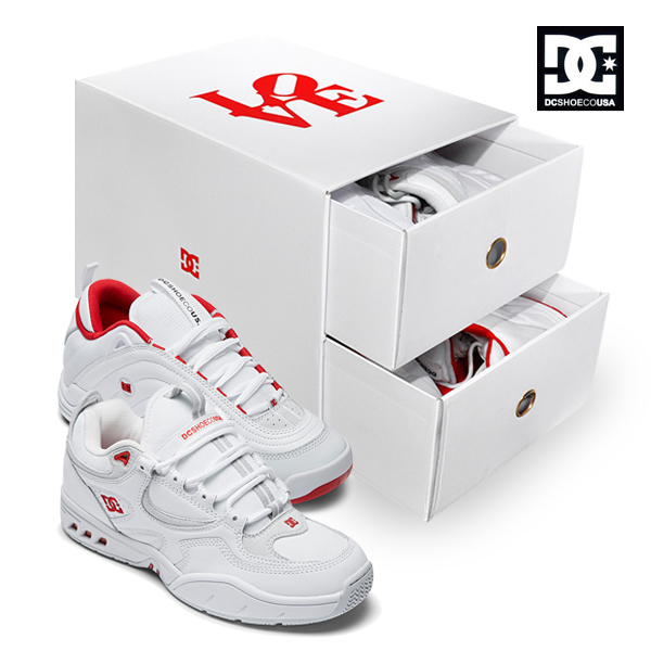 【DC Shoe】LOVEPARK BOX SET THE KALIS OG THE WILLIAMS OG カラー:WRD ディーシー キャリス ウィリアムス スケートボード スケボーシューズ 靴 スニーカー SKATEBOARD SHOES