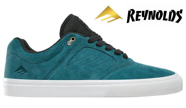 【Emerica】REYNOLDS 3 G6 VULC <Andrew Reynolds Signature Model>カラー:teal/black 【エメリカ】【スケートボード】【シューズ】
