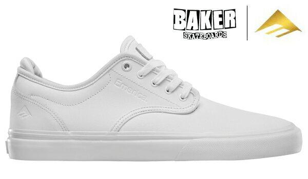 【Emerica×BAKER】WINO G6 カラー:white 【エメリカ】【ベイカー】【スケートボード】【シューズ】
