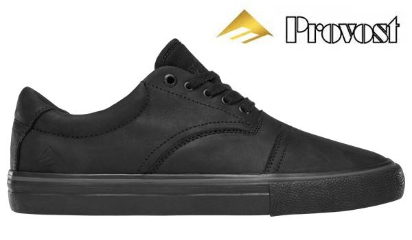 【Emerica】PROVIDER <Collin Provost Signature Model>カラー:black/black/black 【エメリカ】【スケートボード】【シューズ】