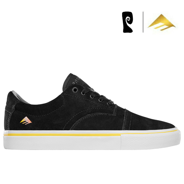 【Emerica×PSOCKADELIC】PROVIDER Collin Provost Signature Model カラー:black エメリカ ソッケデリック プロヴァイダー スケートボード スケボー SKATEBOARD シューズ 靴 スニーカー