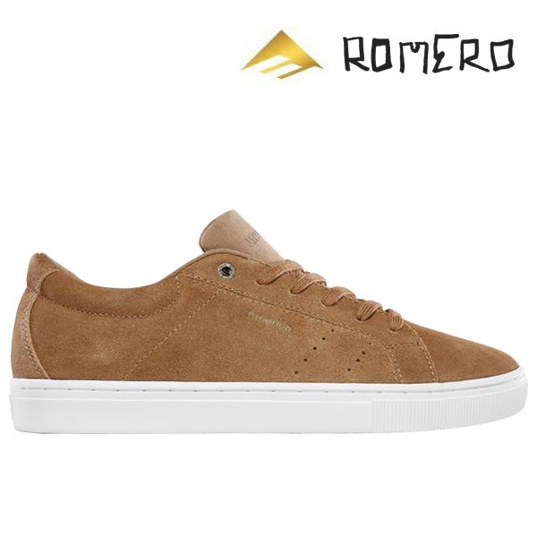 【Emerica】ROMERO AMERICANA カラー:tan/white エメリカ ロメロ アメリカーナスケートボード スケボー SKATEBOARD シューズ 靴 スニーカー