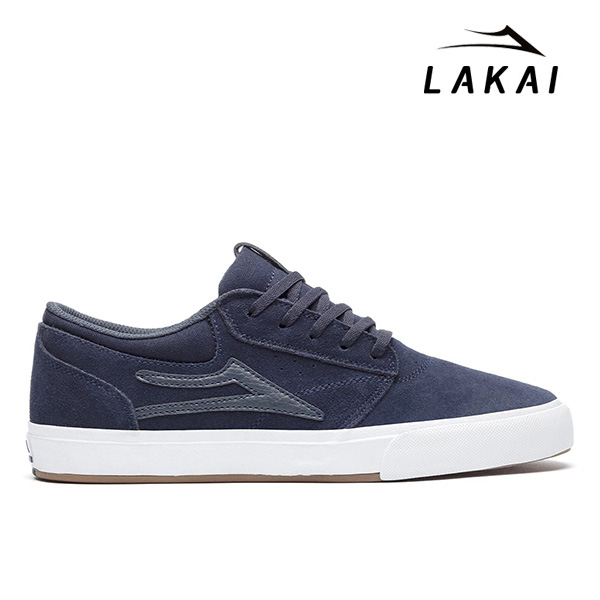 【LAKAI】GRIFFIN VLK カラー:navy suede ラカイ グリフィン スケートボード スケボー シューズ 靴 スニーカー SKATEBOARD SHOES