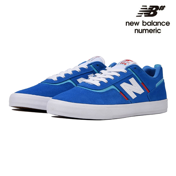 【NEW BALANCE NUMERIC】Jamie Foy NM306MIA カラー:blue with red ニューバランス ヌメリック スケートボード スケボーシューズ 靴 スニーカー SKATEBOARD SHOES【26.5cm/27cm/27.5cm/28cm】