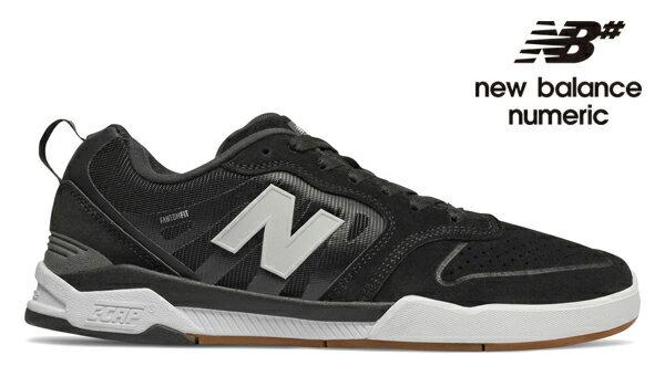 【NEW BALANCE NUMERIC】868 NM868BGG カラー:black ニューバランス ヌメリック スケートボード スケボーシューズ 靴 スニーカー SKATEBOARD SHOES
