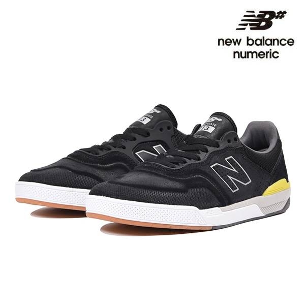 【NEW BALANCE NUMERIC】BRANDON WESTGATE NM913 NM913BKR カラー:black with grey&lime ニューバランス ヌメリック スケートボード スケボーシューズ 靴 スニーカー SKATEBOARD SHOES【29cm】