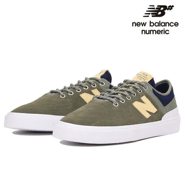 【NEW BALANCE NUMERIC】NM379 NM379GNB カラー:olive ニューバランス ヌメリック スケートボード スケボーシューズ 靴 スニーカー SKATEBOARD SHOES