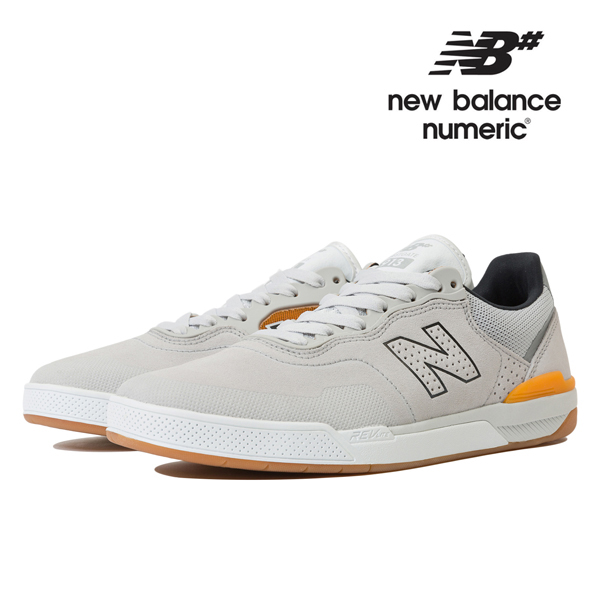 【NEW BALANCE NUMERIC】BRANDON WESTGATE NM913 NM913GGB カラー:light grey with dark grey ニューバランス ヌメリック スケートボード スケボーシューズ 靴 スニーカー SKATEBOARD SHOES