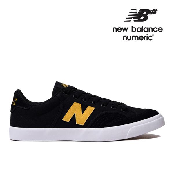 【NEW BALANCE NUMERIC】NM212 NM212CAL カラー:blac/yellow ニューバランス ヌメリック スケートボード スケボーシューズ 靴 スニーカー SKATEBOARD SHOES
