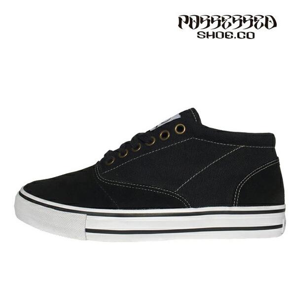 【POSSESSED】BONELESS ONE カラー:black ポゼスト ボンレス スケートボード スケボー シューズ 靴 スニーカー SKATEBOARD SHOES