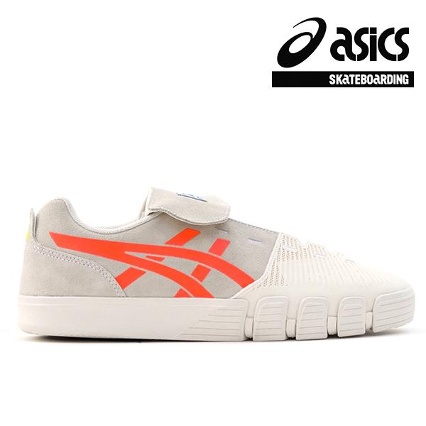 【asics skatebording】GEL-FLEXKEE PRO カラー:cream/sunrise red アシックス スケートボーディング スケートボード スケボー シューズ 靴 スニーカー SKATEBOARD SHOES
