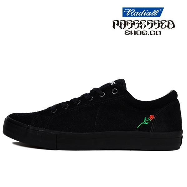 【POSSESSED×RADIALL】CONQUISTA カラー:black ポゼスト ラディアル シューズ 靴 スニーカー スケートボード スケボー SKATEBOARD SHOES