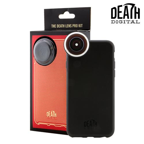 【DEATH DIGITAL】DEATH LENS PRO KITPro Lens + Impact Case for IPhone 6/6S【デスデジタル】【スケートボード】【アイフォンケース】【レンズ/撮影/アクセサリー】