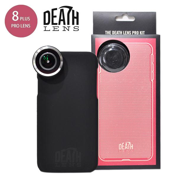 【DEATH DIGITAL】DEATH LENS PRO KIT Pro Lens + Standard Case for iPhone 8 Plus 【デスレンズ】【スケートボード】【アイフォン】【レンズ/アクセサリー】