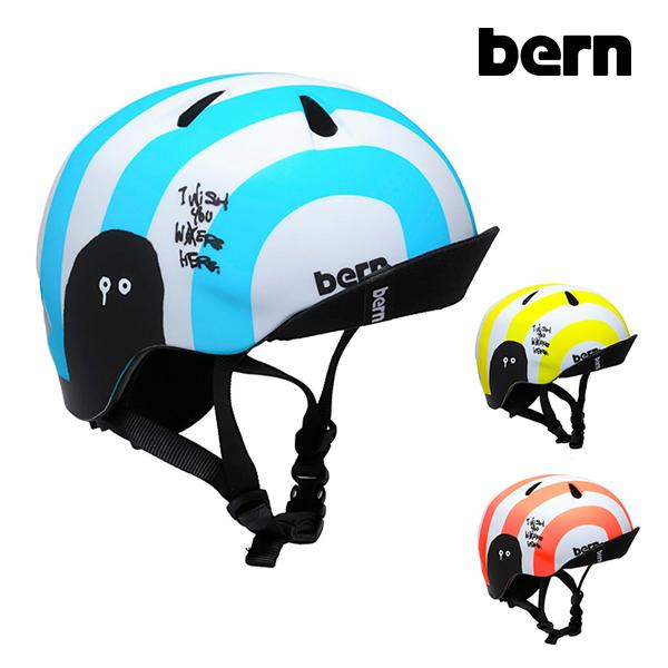 【BERN】NINO RYUJI KAMIYAMA バーン ヘルメット HELMET プロテクター キッズ スケートボード スケボー SKATEBOARD
