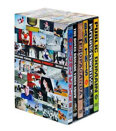 【POWELL PERALTA】BONES BRIGADE DVD BOX【パウエル ペラルタ】【ボーンズ ブリゲード】【スケートボード】【映像/DVD】