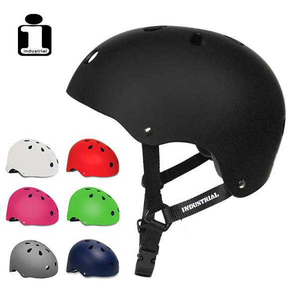 INDUSTRIAL 出色 ヘルメット インダストリアル プロテクター HELMET 大人 ☆新作入荷☆新品 SKATEBOARD スケボー スケートボード キッズ 子供