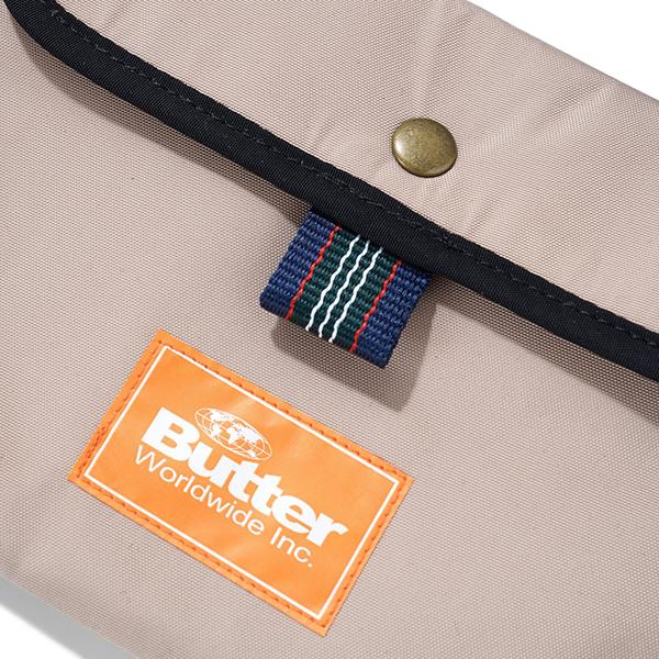 BUTTER GOODS SCHMIDT SIDE BAG カラー khaki バターグッズ ショルダー バッグ スケートボード スケボー SKATEBOARDwkNOn0P8X