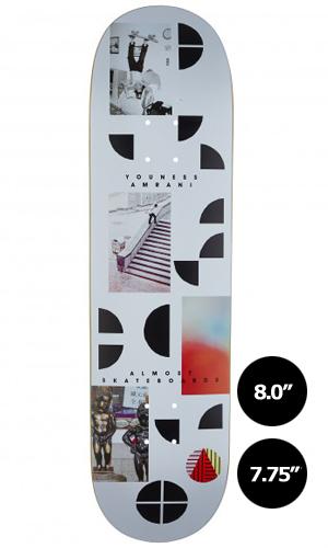 【Almost】Youness Amrani FRAGMENTS 【オールモスト】【スケートボード】【デッキ】【7.75/8.0インチ】選べる無料のデッキテープ付き!