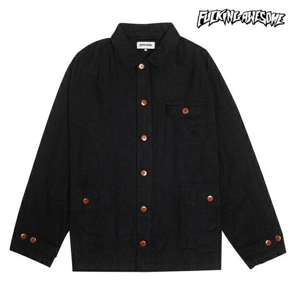 【FUCKING AWESOME】K OF CHORE coat カラー:black 【ファッキンオウサム】【スケートボード】【ジャケット】