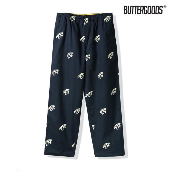 【BUTTER GOODS】HORUS PANTS カラー:navy バターグッズ スケートボード スケボーパンツ ズボン