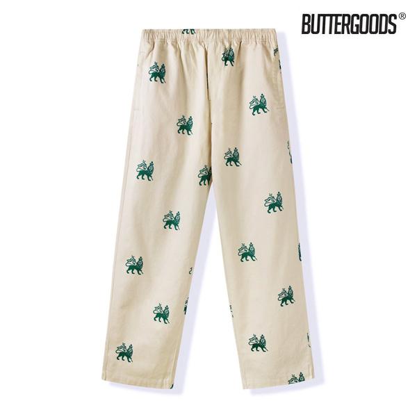 【BUTTER GOODS】JUDAH PANTS カラー:natural バターグッズ パンツ ズボン スケートボード スケボー SKATEBOARD