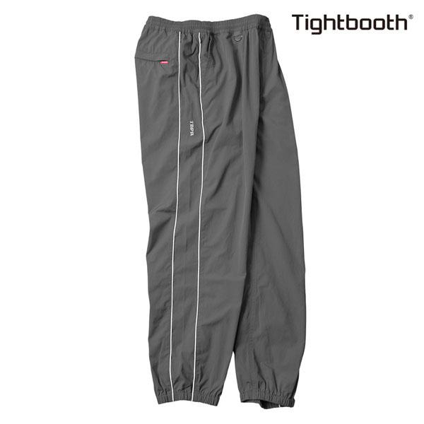 【TBPR/TIGHTBOOTH PRODUCTION】PIPING TRACK PANTS カラー:grey 【タイトブースプロダクション】【スケートボード】【パンツ】