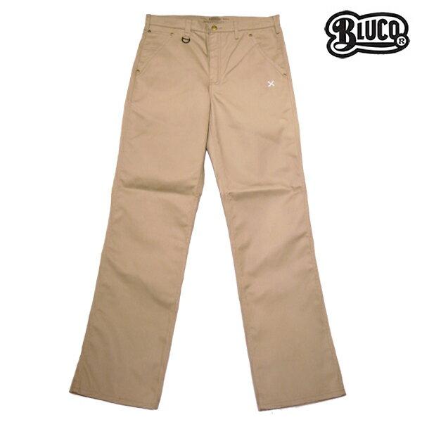 【BLUCO WORK GARMET】WORK PANTS 5pocket OL-003カラー:beige 【ブルコ】【スケートボード】【パンツ/チノ】